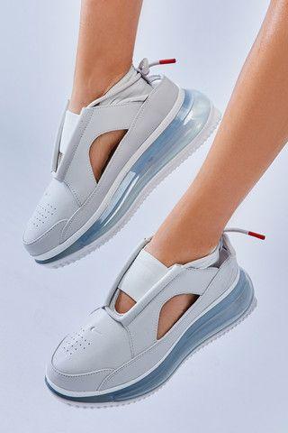 Nike Wmns Air Max Ff 720 Frauenschuh Grau Blau Ao3189 100 Ayakkabı Erkek Bayan Ayakkabı Ayakkabılar