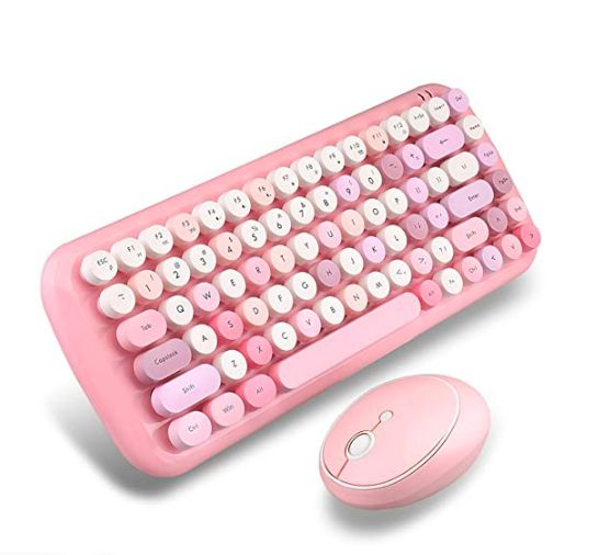 Candy color wireless Keyboard&Mouse