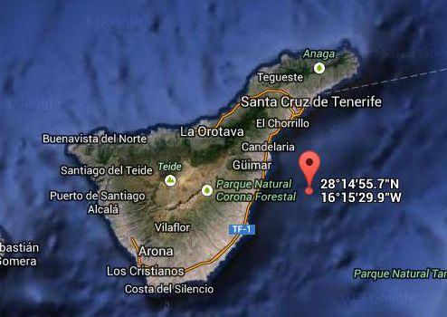 Terremoto este de Tenerife, 17 junio