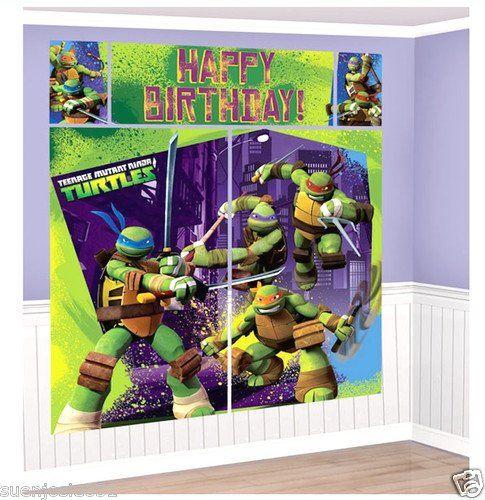Teenage Mutant Ninja Turtles Scene Setter Set with 2 Large Posters, 2 Small Posters and Happy Birthday Banner! Designware,http://www.amazon.com/dp/B00ES2NZSA/ref=cm_sw_r_pi_dp_bfAttb1FN2377MEV