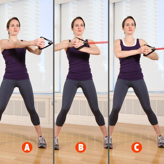 Resistance Band Exercises, Band Exercises And Circular