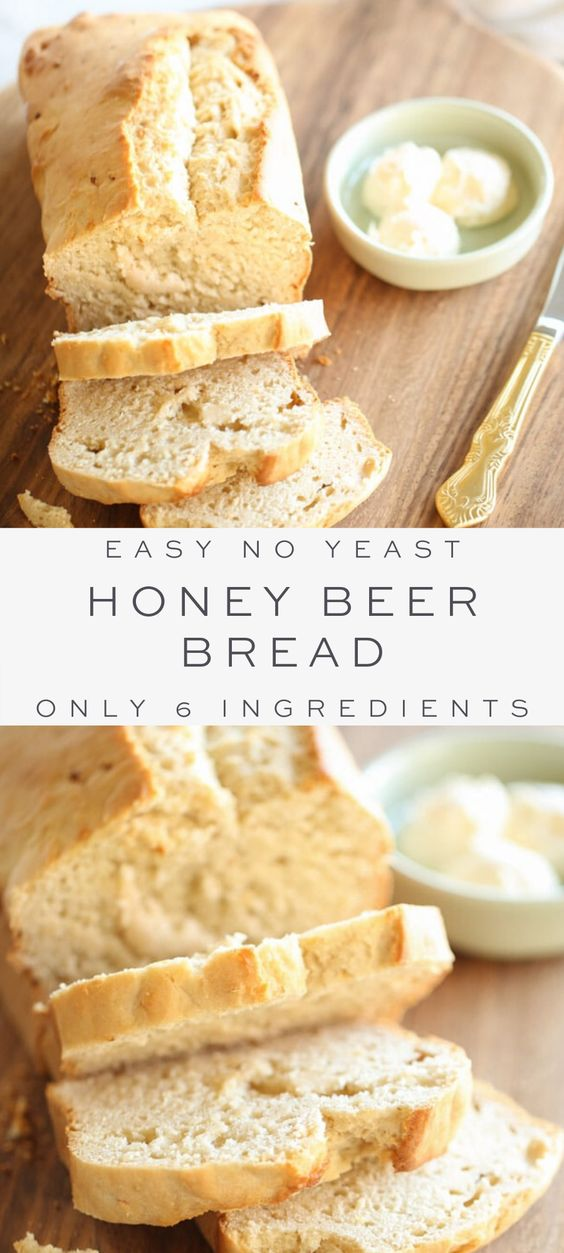 Foolproof Honey Beer Bread Recipe