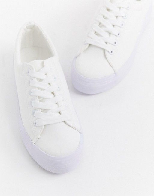 Shop New Look chunky flatform sneaker