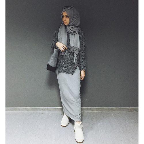 Beauty Image M U S L I M A H Pinterest Gris Recherche Et Tutoriel Hijab