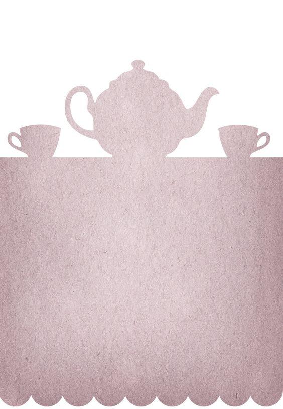 Free Printable Tea Party Invitation   Communication   Pinterest ...