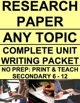 English     research paper topics  Example research paper with