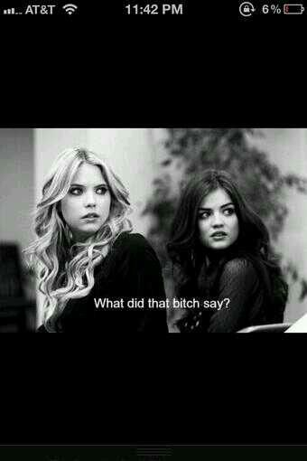 When someone says my name.