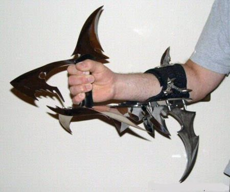The oddest knives. Well I do like this Shark Knife. What's your choice?