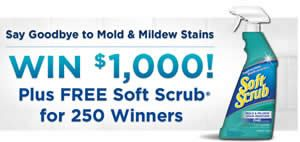 WIN a Soft Scrub Product (250 Winners!) on http://www.icravefreebies.com/