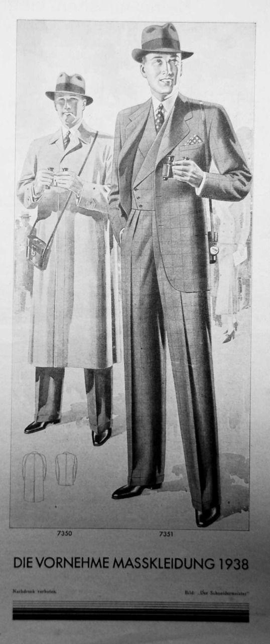 The Workshop | goldenerasuits:   Die vornehme Masskleidung 1938