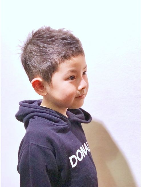 3歳以上限定キッズスタイル L026796375 ヘアーリゾート ライフ 渋谷 Hair Resort Life のヘアカタログ ホットペッパービューティー キッズスタイル ボーイズヘアカット こども 髪型
