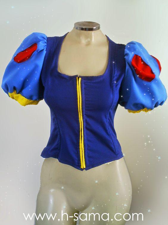 TUTORIAL: cosplay Branca de Neve - Snow White (DISNEY)  Leia mais em H-SAMA BLOG: http://www.h-sama.com/2014/11/tutorial-cosplay-branca-de-neve-snow.html#ixzz3IL7ccvMf