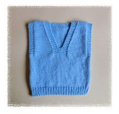Dexter - All-in-One Slipover Sweater Well ....... 2016 has begun. For me a New Year is full of opportunity, and a time for optimism.   I have started the year with asimple baby slipover / vest top. I