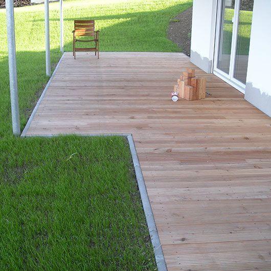 Résultat d\'images pour stufe in holzterrasse | Terrasse bois ...
