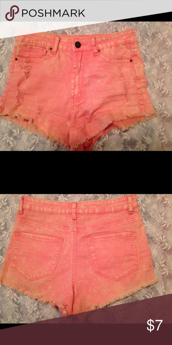 Denim Shorts Cut off denim shorts. denim blvd Shorts Jean Shorts