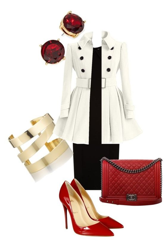 """Winter Workwear"" by alisha-b-pratt on Polyvore featuring BOSS Hugo Boss, Christian Louboutin, Chanel, Étoile Isabel Marant and Lauren Ralph Lauren"