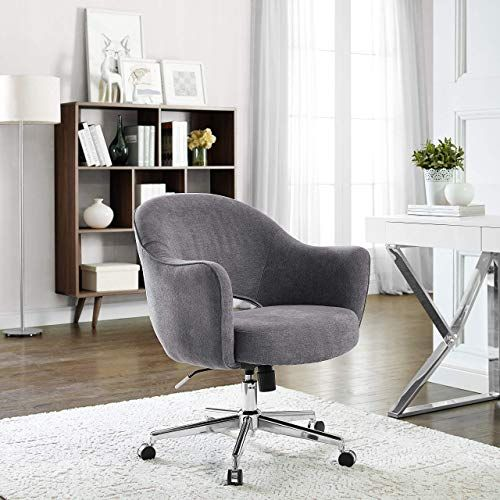 Amazing Offer On Serta Valetta Dovetail Gray Home Office Chair Online Perfectfurniture Home Office Chairs Desk Chair Comfy Office Chairs Online