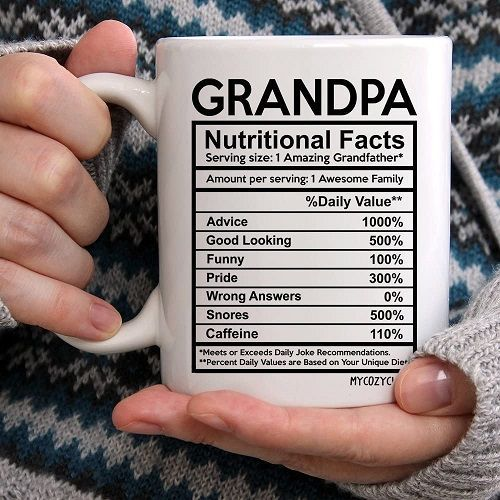 Top 10 Father S Day Gift Ideas For Grandpa Nutrition Facts Healthy Work Snacks Nutrition