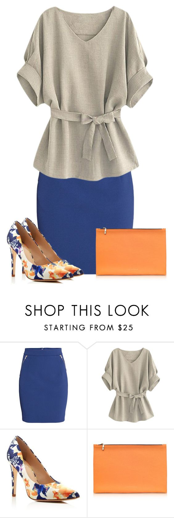 """""""Untitled #586"""" by dida-zalesakova ❤ liked on Polyvore featuring H&M, Vince Camuto and Victoria Beckham"""