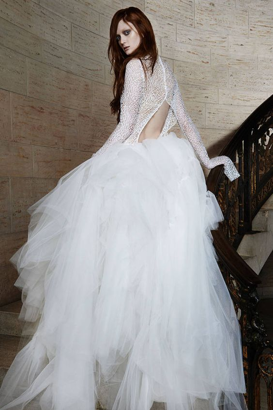 50+ Spring 2015 Designer Wedding Dresses - Couture Wedding Dress Designers - Harper's BAZAAR