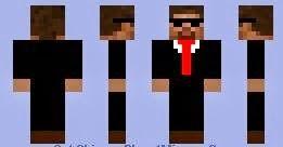 Minecraft skins Secret agent | Download Free Minecraf Mod