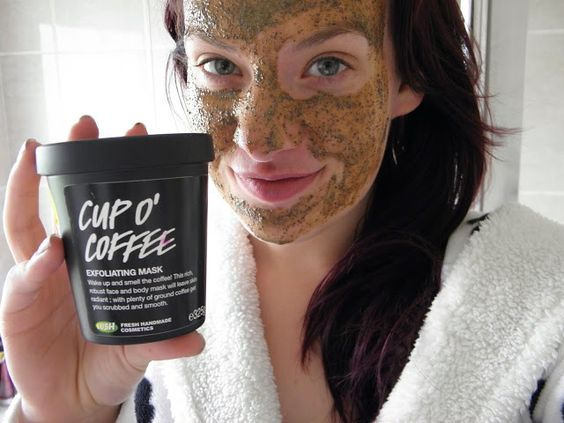 Face masks, LUSH and Coffee face mask