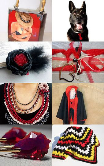 Black and Red Magic by Cameron Zimpelman on Etsy--Pinned with TreasuryPin.com