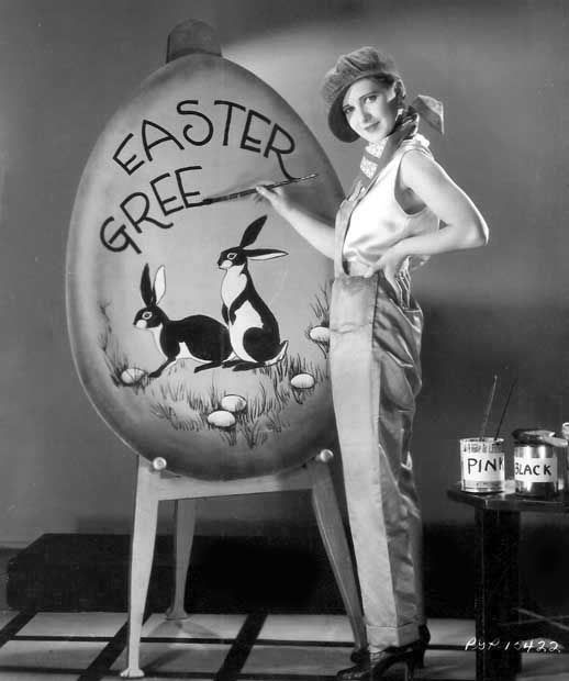 Easter Greetings! from Jean Arthur: