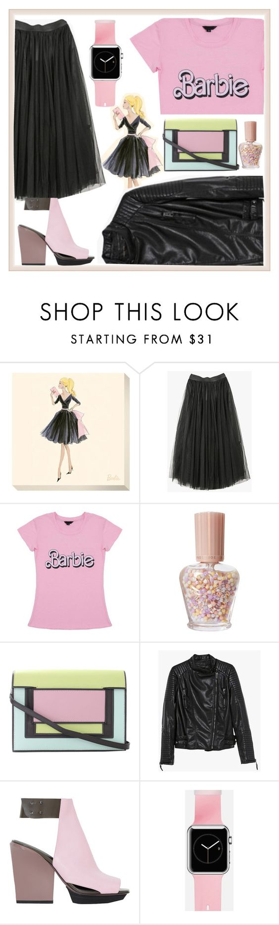"""Barbie Girl"" by amistric ❤ liked on Polyvore featuring Paul & Joe, Pierre Hardy, 3.1 Phillip Lim, Casetify, Pink, Barbie, tulle and Bubblegumpink"