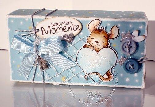 ♥ Flati s Stempelwelt ♥: Schubladenbox freebie