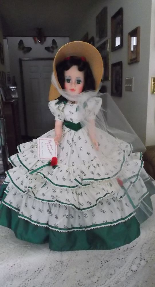 """Gone With the Wind~ 21"""" SCARLETT O'HARA DOLL ~ Made By: Madame Alexander In 1991 #MADAMEALEXANDER"""