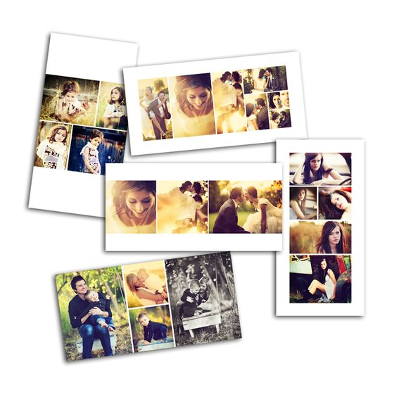 Storyboard template for a photo book or even a wall display - photography storyboard template