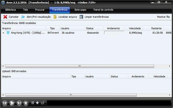 Compartilhador P2P mais usado do brasil gratuito e em português, compartilhe imagens, músicas, vídeos, programa e mais.