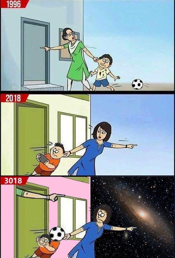Karen took the football kid
