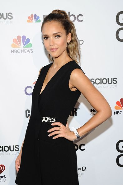 Jessica Alba attends VIP Lounge at the 2014 Global Citizen Festival to end extreme poverty by 2030 in Central Park on September 27, 2014 in New York City