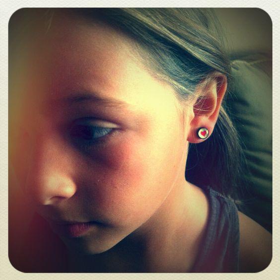Fake earring