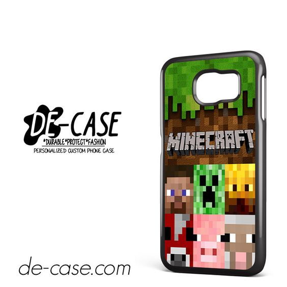 Minecraft Character DEAL-7263 Samsung Phonecase Cover For Samsung Galaxy S6 / S6 Edge / S6 Edge Plus