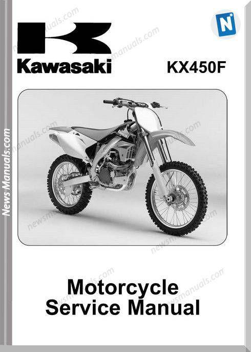 Kawasaki Kx450f 2006 Service Manual Freightliner Repair Manuals Kawasaki
