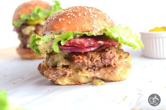 Big Boys' Beef Burger