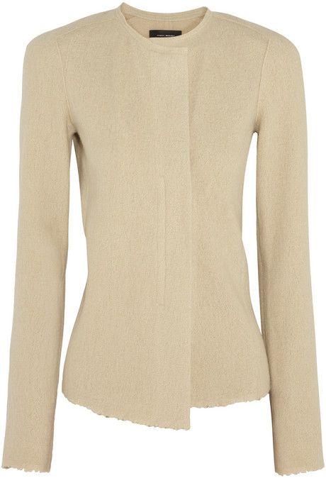Isabel Marant Kailey wool and angora-blend jacket