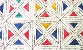 Image result for kantha embroidery of bengal