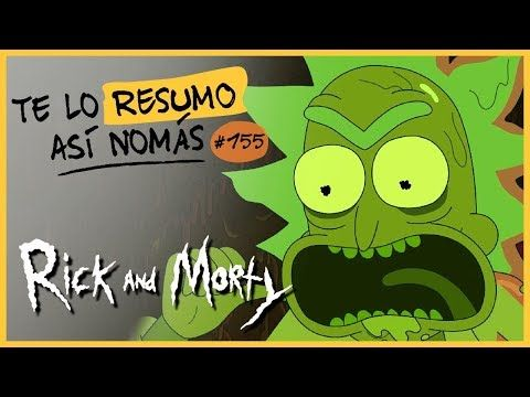 Rick And Morty Te Lo Resumo Así Nomás 155 Youtube Instagram Youtube Videos