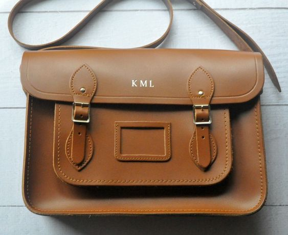 Cambridge Satchel Company embossed classic satchel: