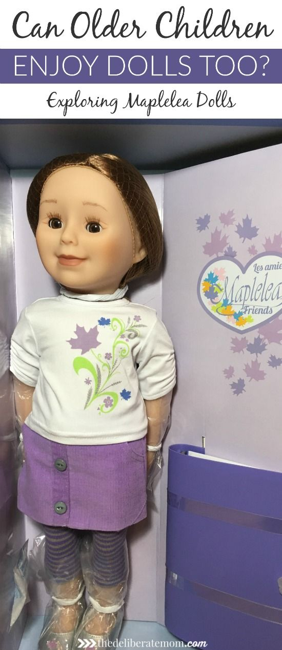 My almost nine-year-old asked for a Maplelea Doll for Christmas, but can older children enjoy dolls too? Here's my answer (and honest review of Maplelea).