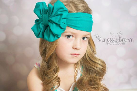 Hey, I found this really awesome Etsy listing at https://www.etsy.com/listing/185792589/turquoise-floppy-bow