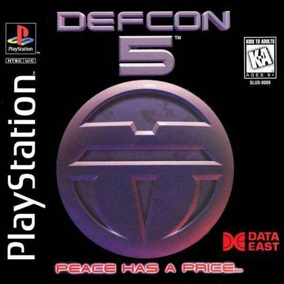 Defcon 5 Sony Playstation Playstation Sony Games