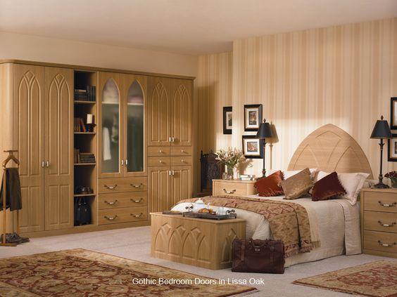 Gothic - Replacement Bedroom Wardrobe Door - Custom Made #furniture #DIY