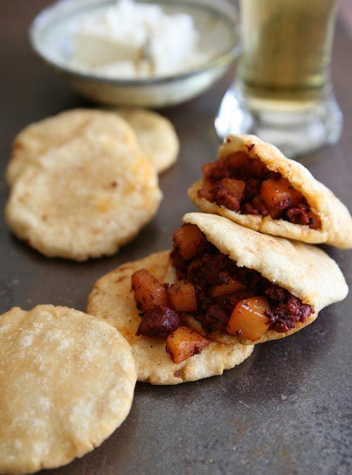 Potatoes with Mexican Chorizo | Papas con Chorizo