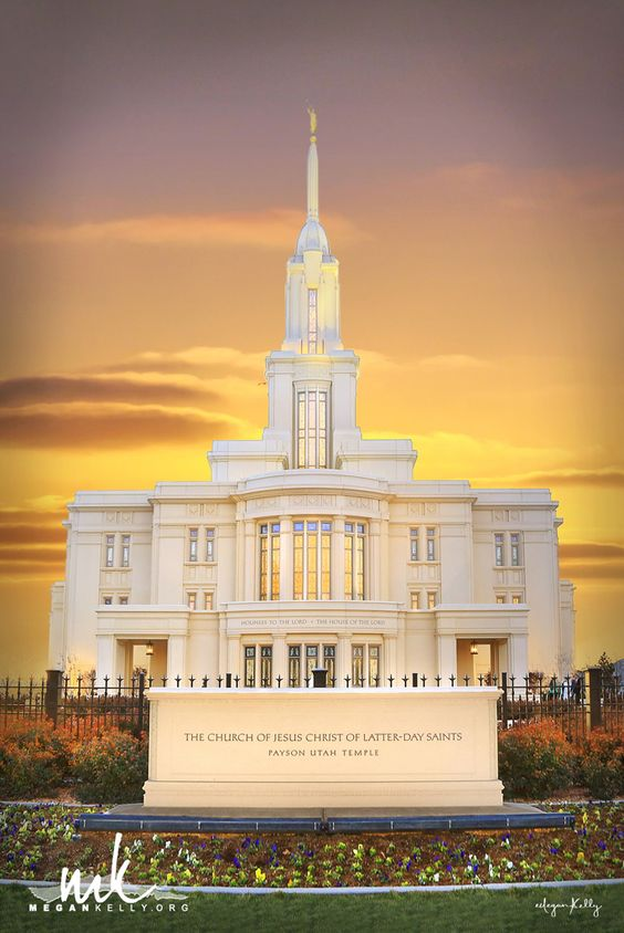 Megan Kelly Payson Utah Temple Print Amazing LDS