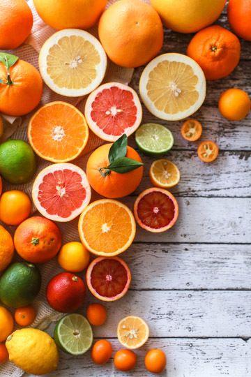 detox frutta di stagione arance rosse di Sicilia